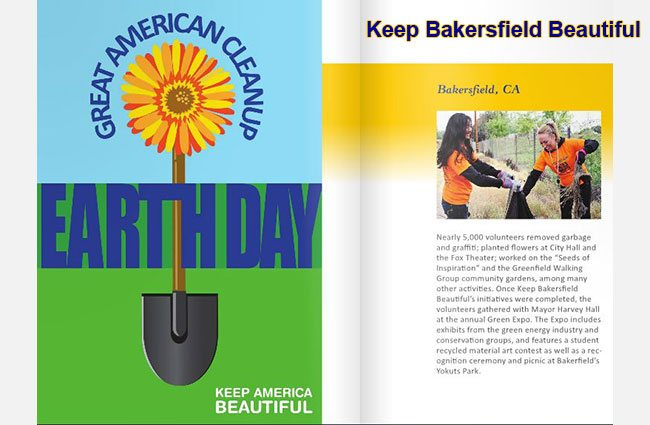 Keep Bakersfield Beautiful with the Great American Clean-up!