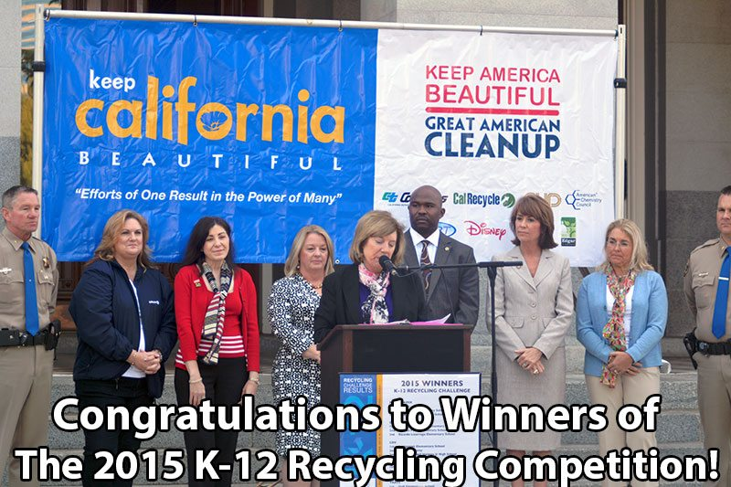 K-12 Recycling Challenge Winners 2015
