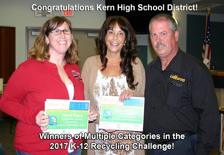 Kern High School District 2017 Winners!