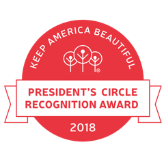 President Circle Button Logo